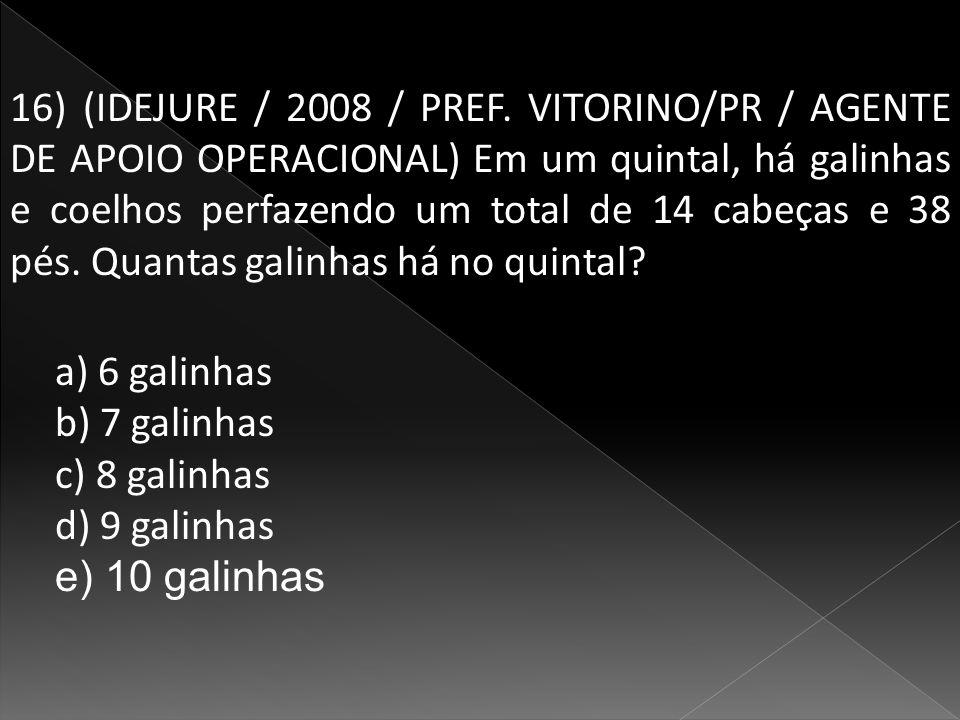 16) (IDEJURE / 2008 / PREF.