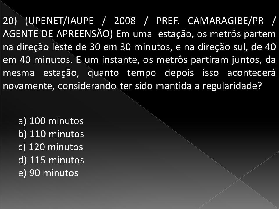20) (UPENET/IAUPE / 2008 / PREF.