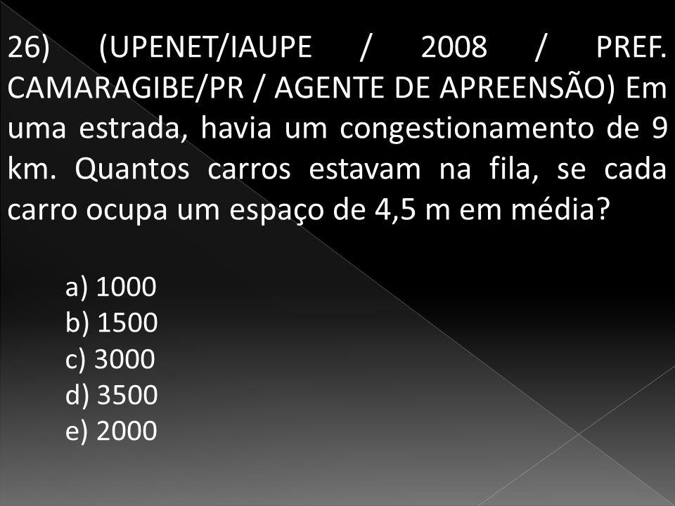 26) (UPENET/IAUPE / 2008 / PREF.