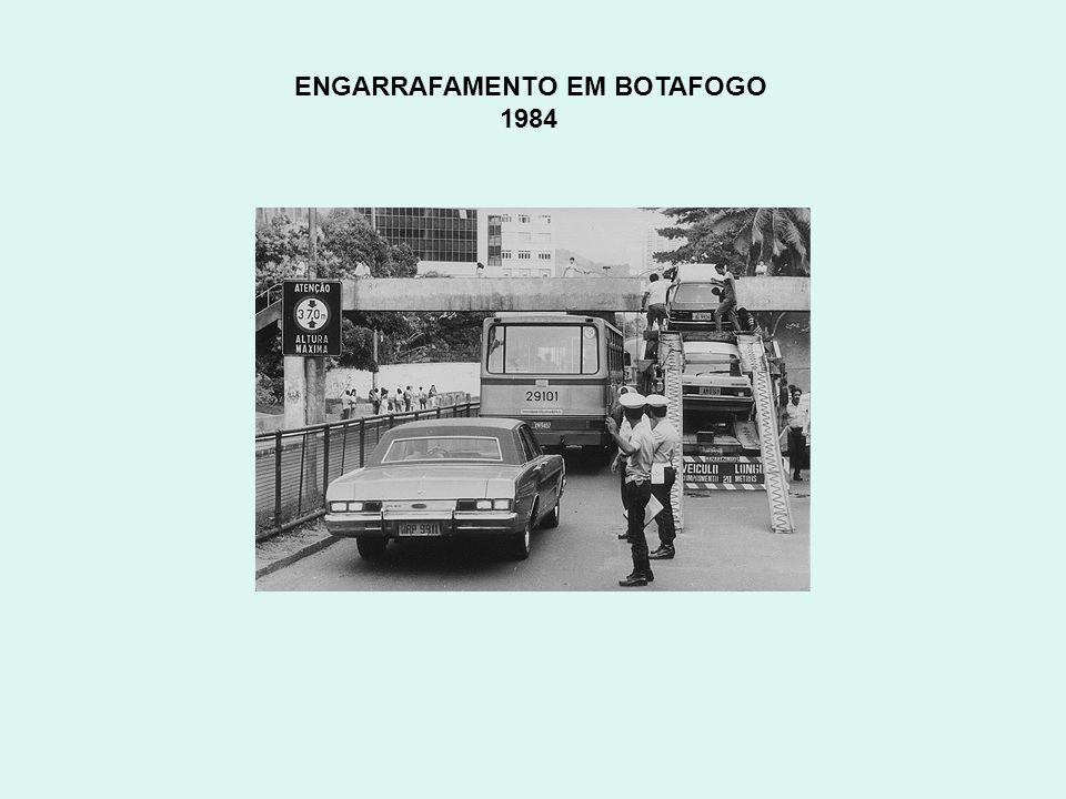 ENGARRAFAMENTO EM BOTAFOGO 1984