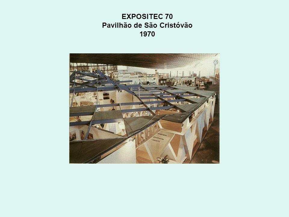 EXPOSITEC 70 Pavilhão de São Cristóvão 1970