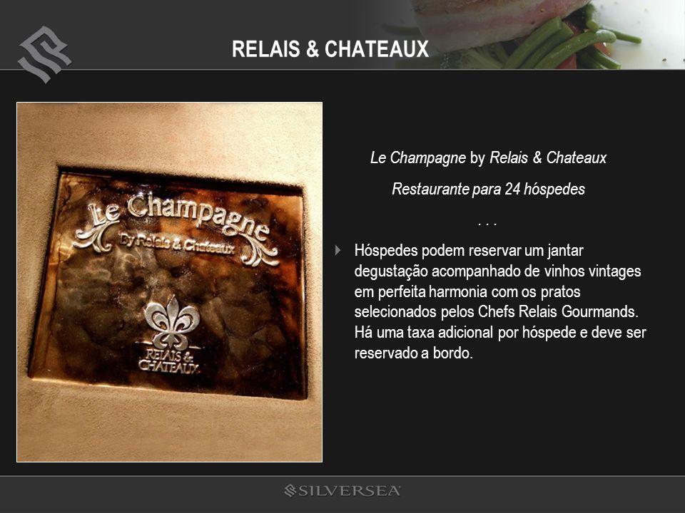 RELAIS & CHATEAUX Le Champagne by Relais & Chateaux Restaurante para 24 hóspedes...