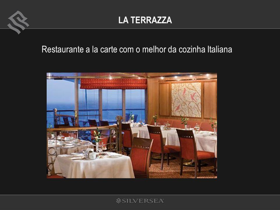 LA TERRAZZA Restaurante a la carte com o melhor da cozinha Italiana