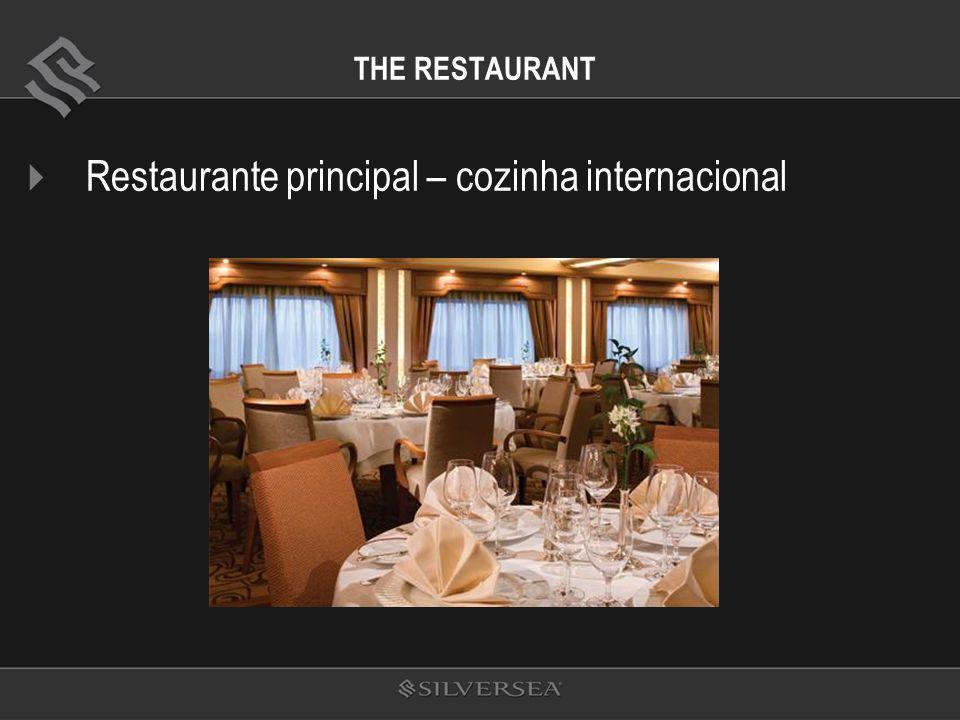 THE RESTAURANT Restaurante principal – cozinha internacional