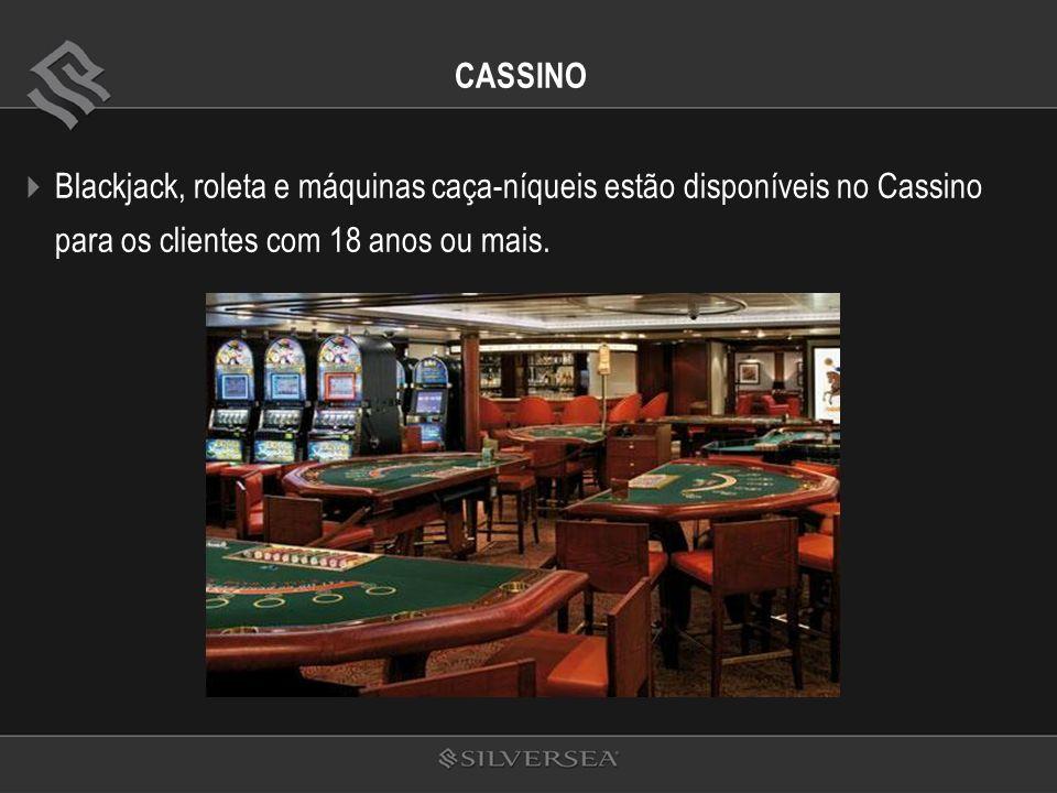 CASSINO Blackjack, roleta e máquinas caça-níqueis estão disponíveis no Cassino para os clientes com 18 anos ou mais.