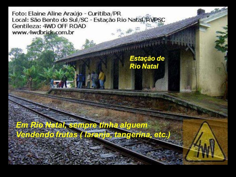 serra Foto tirada na estação de Osvaldo Amaral, hoje desativada..................