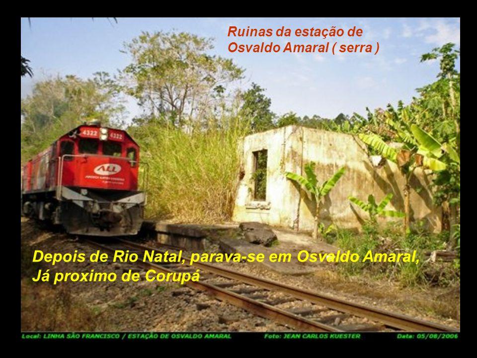 Estação de Rio Natal Em Rio Natal, sempre tinha alguem Vendendo frutas ( laranja, tangerina, etc.)..................