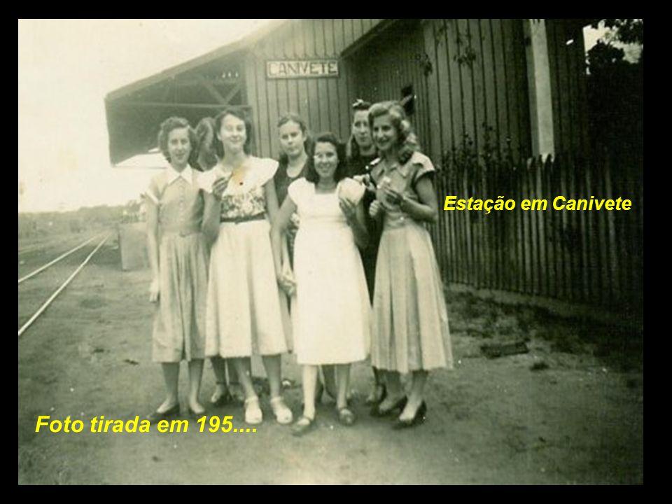 Estação em Canivete As próximas estações eram Bugres, General Osório, e a seguir Canivete, já no municipio de Mafra SC..................