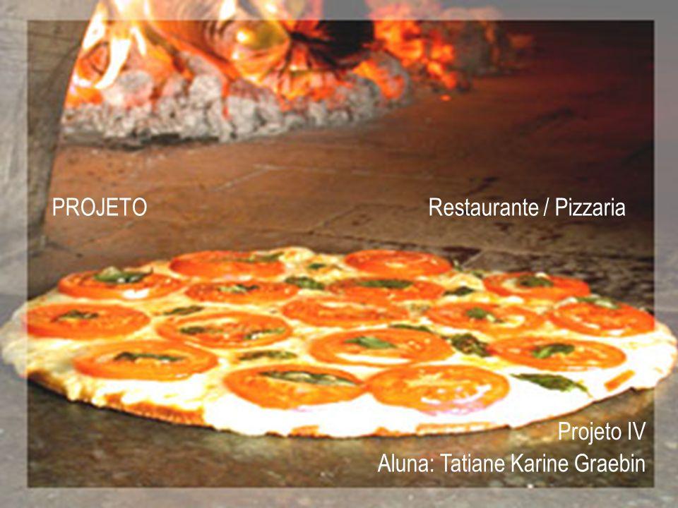 PROJETO Restaurante / Pizzaria Aluna: Tatiane Karine Graebin Projeto IV