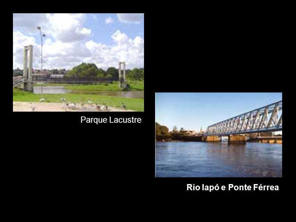 Rio Iapó e Ponte Férrea Parque Lacustre