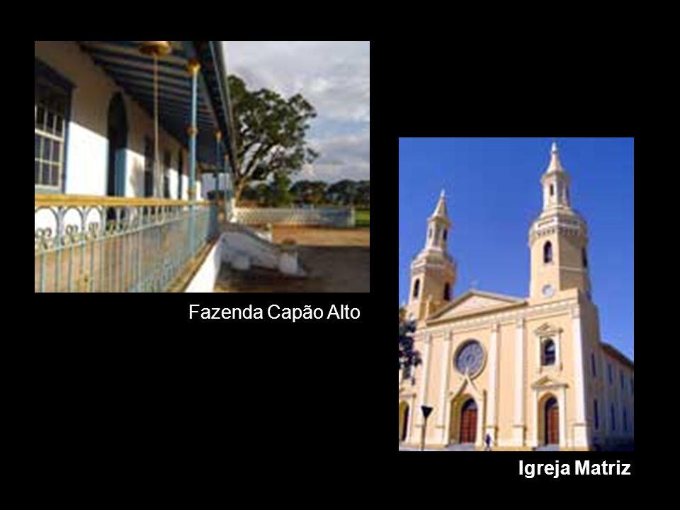 Igreja Matriz Fazenda Capão Alto