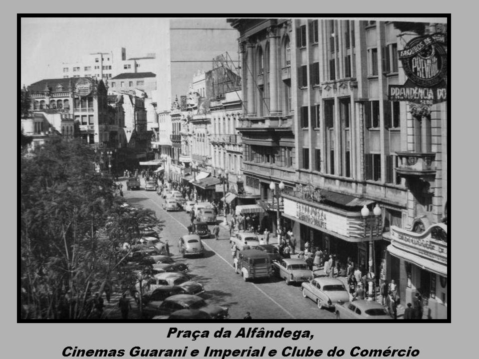 Largo dos Medeiros: Cinema Central e Confeitaria Central