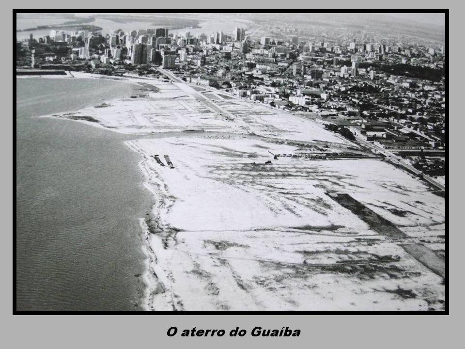 O aterro do Guaíba
