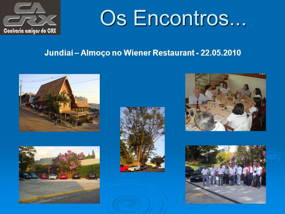 Os Encontros... Jundiaí – Almoço no Wiener Restaurant - 22.05.2010