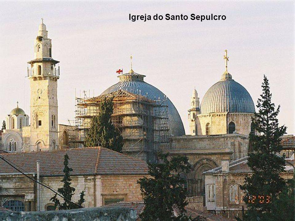 Torre de David (próximo da puerta de Jafa) é o que resta das três torres feitas por Herodes