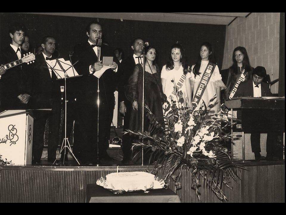 CLUBE A. A. FLORESTA OSASCO Aniversário Outubro de 1970