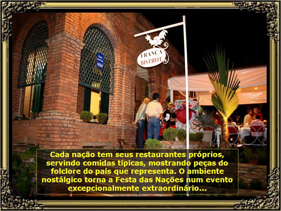 A Festa das Nações é uma das mais belas festas da cidade e do Brasil.
