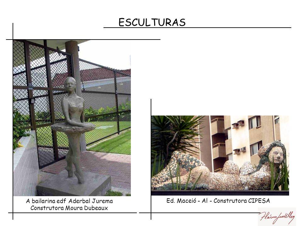ESCULTURAS Edf. Marjolet - Construtora CONAC Residência particular em GravatáEdf. Da construtora Souza Luna