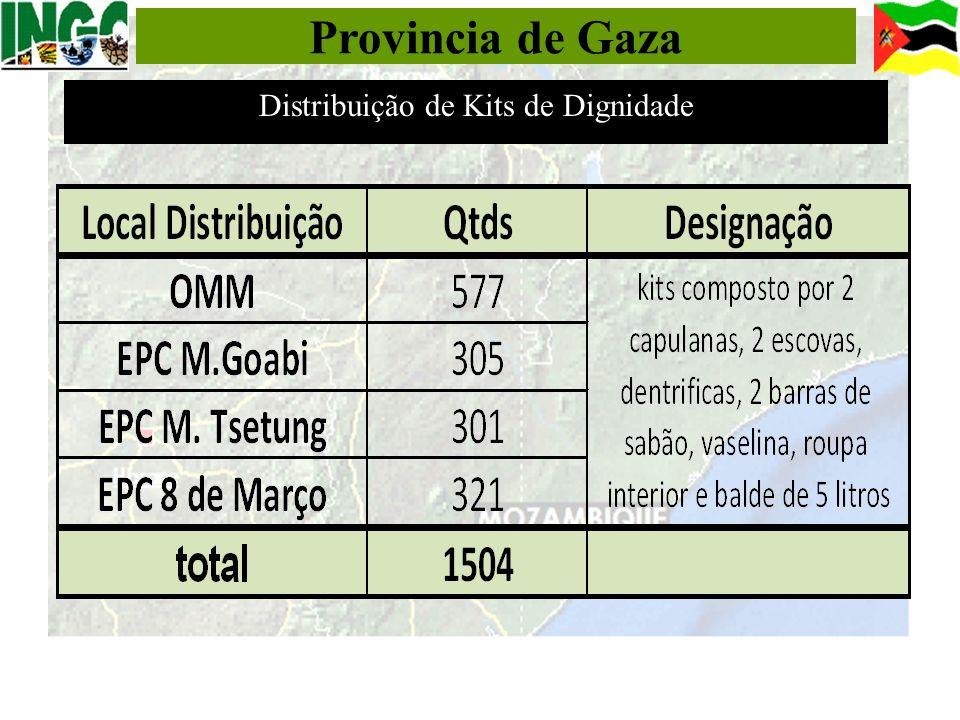 Provincia de Gaza Distribuição de Kits de Dignidade