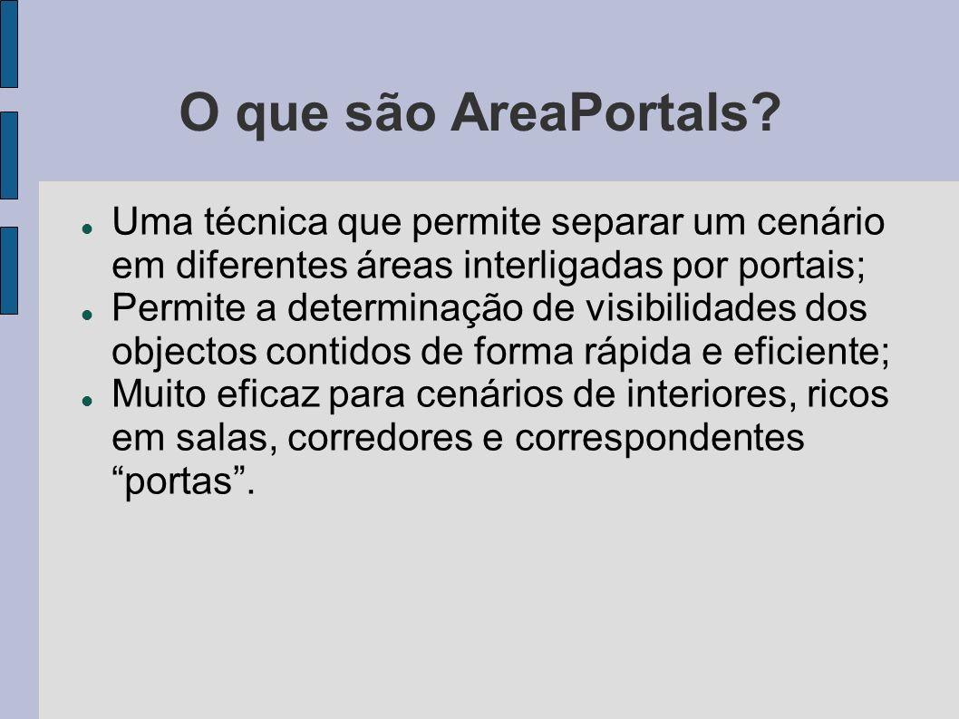 O que são AreaPortals.