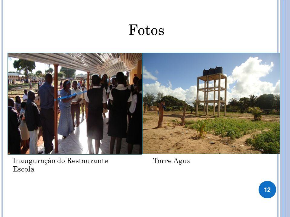 Fotos Inauguração do Restaurante Escola Torre Agua 12