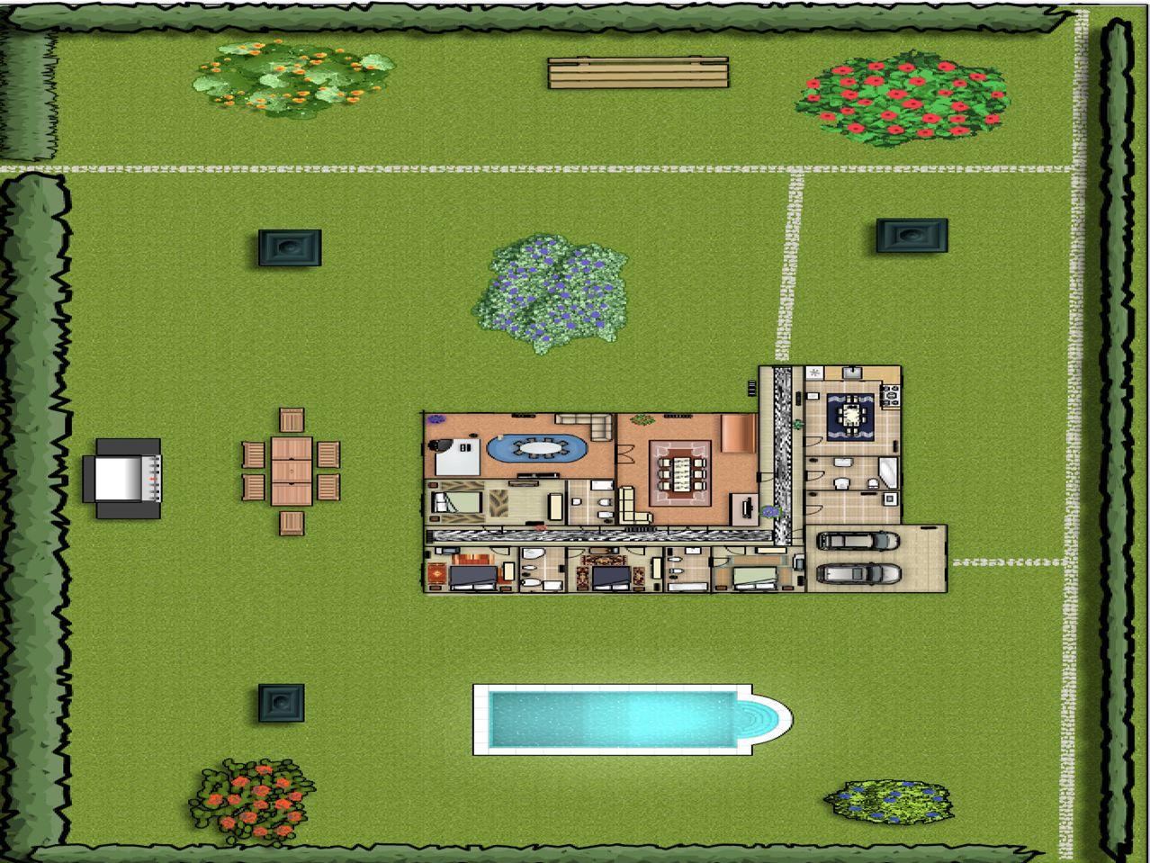 Eu gostava que a minha casa de sonho tivesse: 1 cozinha; 4 quartos; 1 lavandaria; 1 sala; Eu gostava que a minha casa de sonho tivesse: 1 cozinha; 4 quartos; 1 lavandaria; 1 sala;