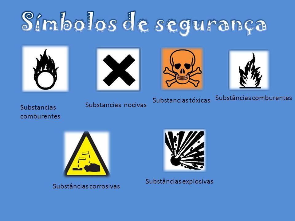 Substancias comburentes Substancias nocivas Substancias tóxicas Substâncias comburentes Substâncias explosivas Substâncias corrosivas