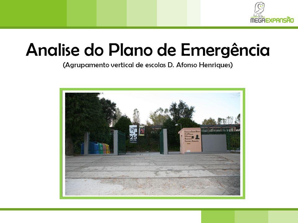 Um Plano de Emergência define-se como um conjunto de normas e regras de procedimentos, destinadas a minimizar os efeitos das catástrofes que se prevê que possam vir a ocorrer em determinadas áreas, gerindo, de forma optimizada, os recursos disponíveis.