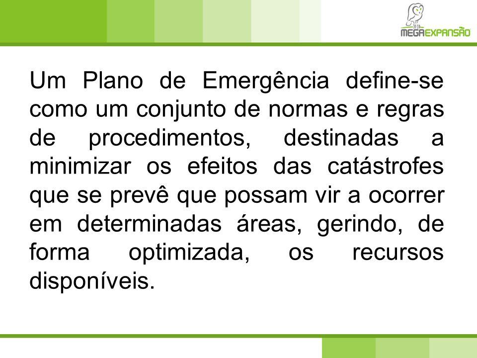 IV – Plano de Evacuação Apresentação dos procedimentos em caso de evacuação, identificação das vias de evacuação e dos respectivos pontos de encontro.