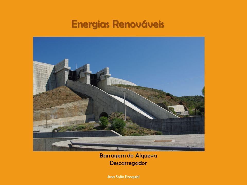 Ana Sofia Ezequiel Energias Renováveis Barragem do Alqueva Descarregador