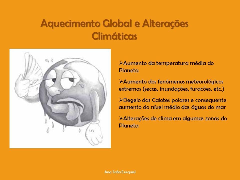 Ana Sofia Ezequiel Aquecimento Global e Alterações Climáticas http://www.youtube.com/watch?v=qUh87ah7LcM&feature=related