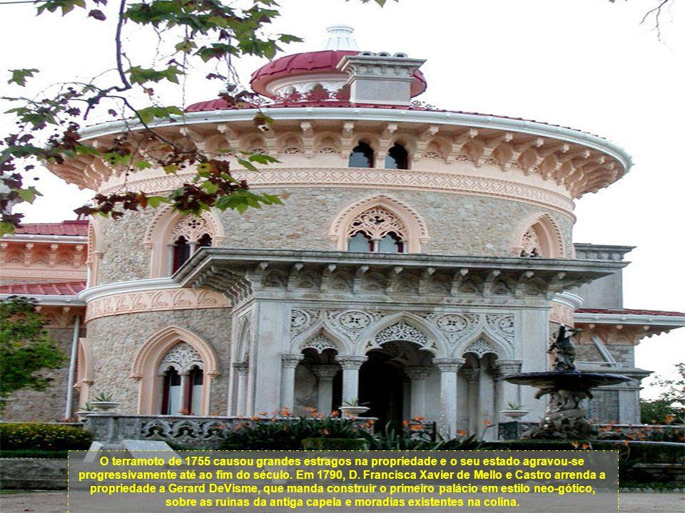 No século XVII, o hospital aforou Monserrate à família Mello e Castro radicada em Goa. Em 1718 a família compra a propriedade e Monserrate é incorpora