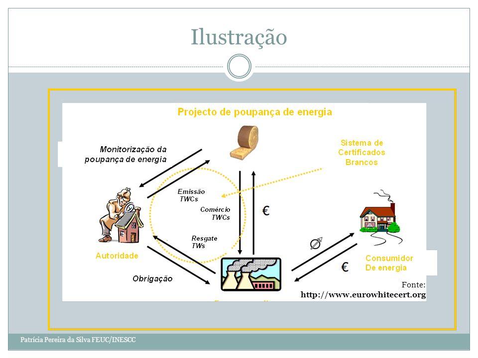 Ilustração Fonte: http://www.eurowhitecert.org Patrícia Pereira da Silva FEUC/INESCC