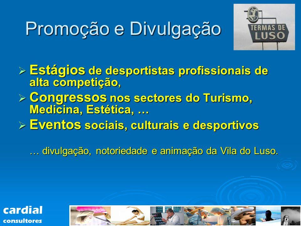 Estágios de desportistas profissionais de alta competição, Estágios de desportistas profissionais de alta competição, Congressos nos sectores do Turis