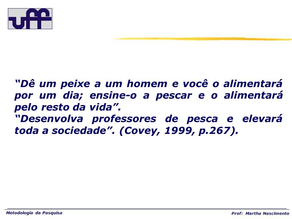 Metodologia da Pasquisa Prof: Martha Nascimento O tema é o cenário onde se localiza a situação problema.