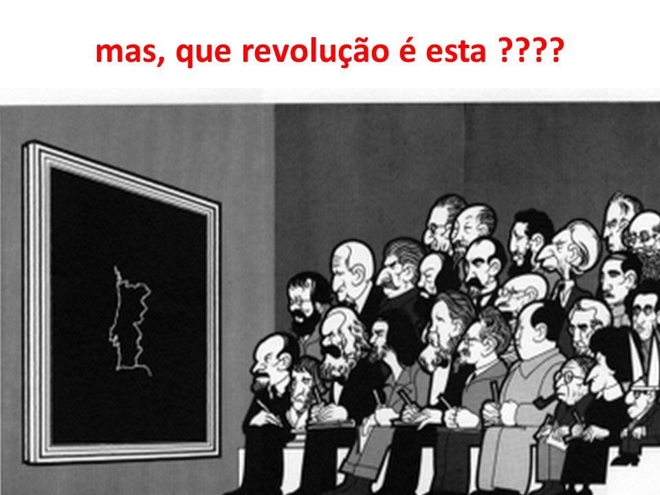 mas, que revolução é esta ????