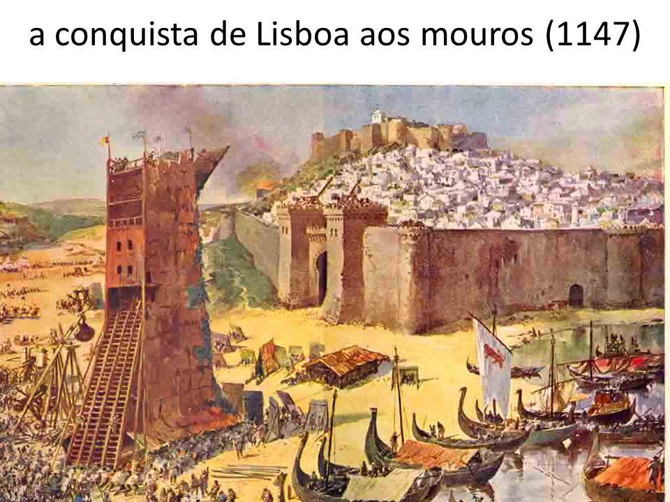 Conquita a conquista de Lisboa aos mouros (1147)