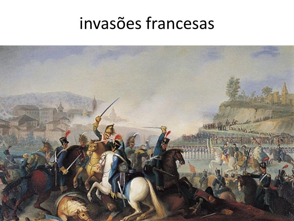 invasões francesas