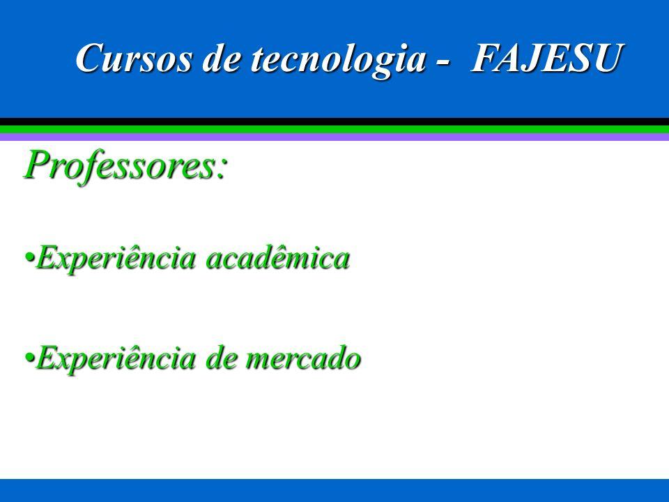 Cursos na FAJESU desde 1999 MatemáticaMatemática PedagogiaPedagogia LetrasLetras Secretariado ExecutivoSecretariado Executivo AdministraçãoAdministraç