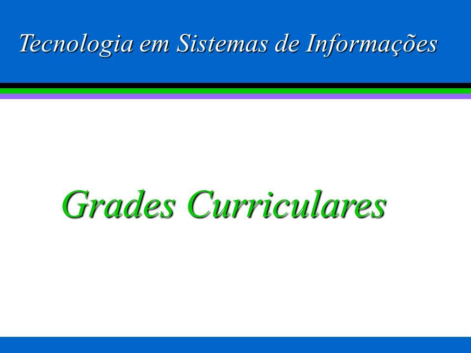 Características do curso de Tecnologia em SI da FAJESU No caso específico do curso de Sistemas de Informações temos ainda as seguintes disciplinas com