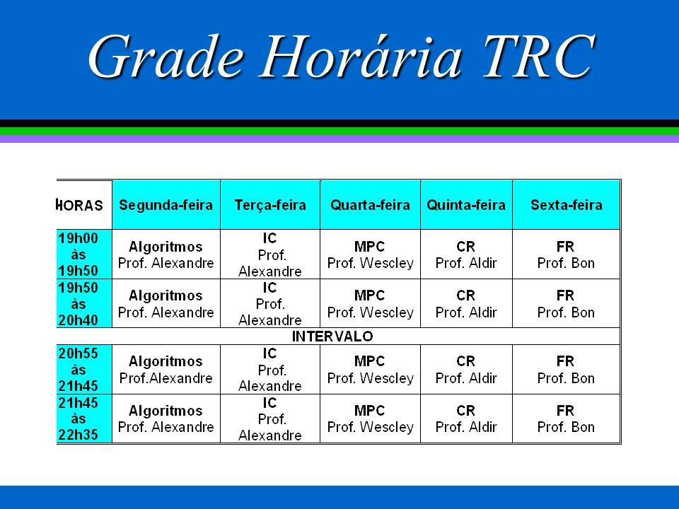 Grade Horária TSI