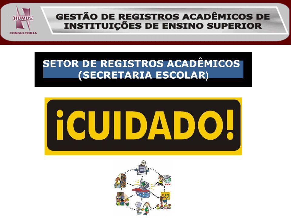 SETOR DE REGISTROS ACADÊMICOS (SECRETARIA ESCOLAR )