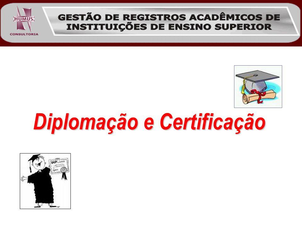 Diplomação e Certificação