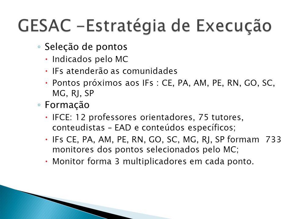 Caracterização do Curso Cada capacitação corresponde a um módulo do curso, que serão executados na modalidade semi-presencial.
