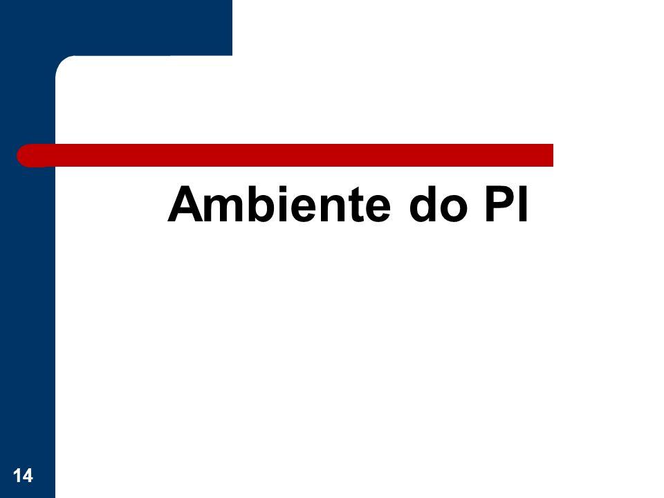 Ambiente do PI 14