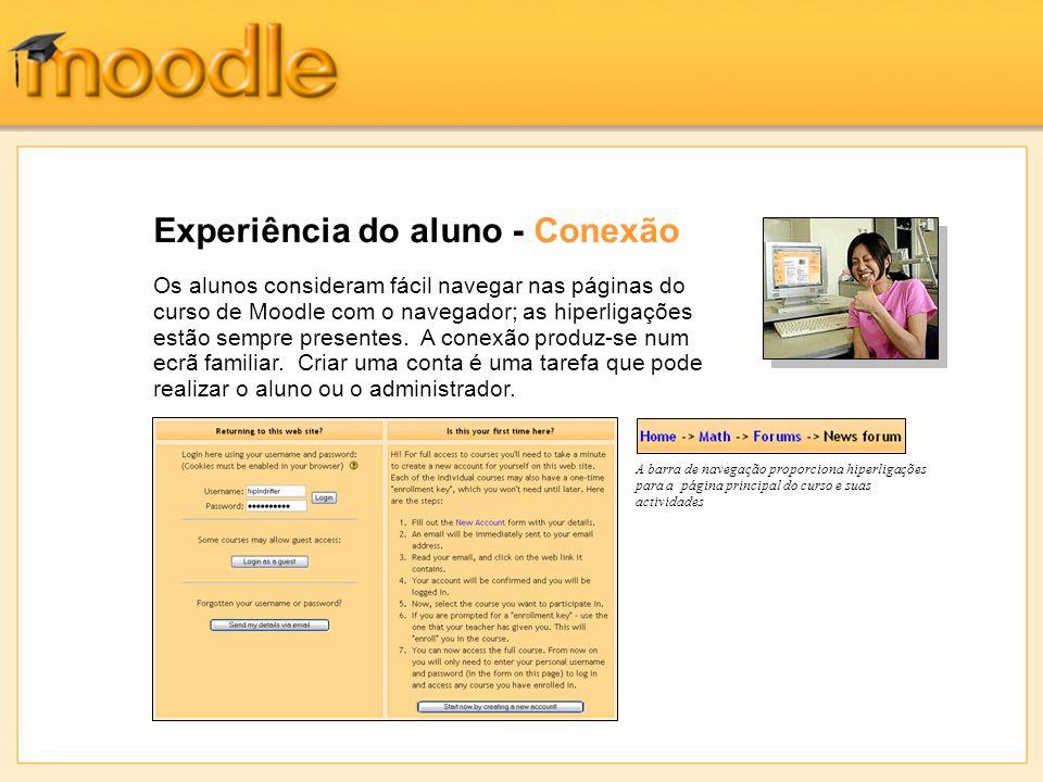 Experiência do aluno – Chaves de inscrição Os professores podem exigir uma palavra-chave para permitir a inscrição num curso.