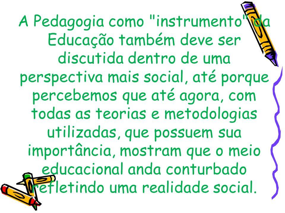 A Pedagogia como