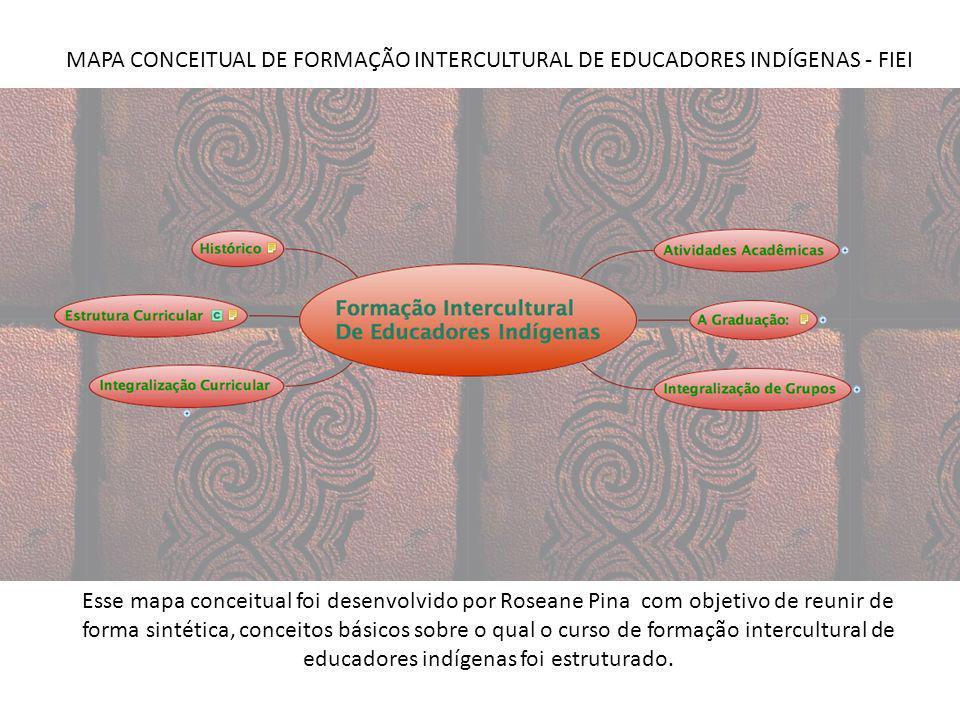 Esse mapa conceitual foi desenvolvido por Roseane Pina com objetivo de reunir de forma sintética, conceitos básicos sobre o qual o curso de formação i
