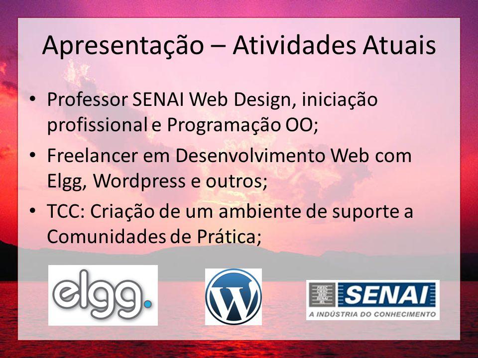 Apresentação - Contato http://kaleucaminha.com kaleu.caminha@gmail.com