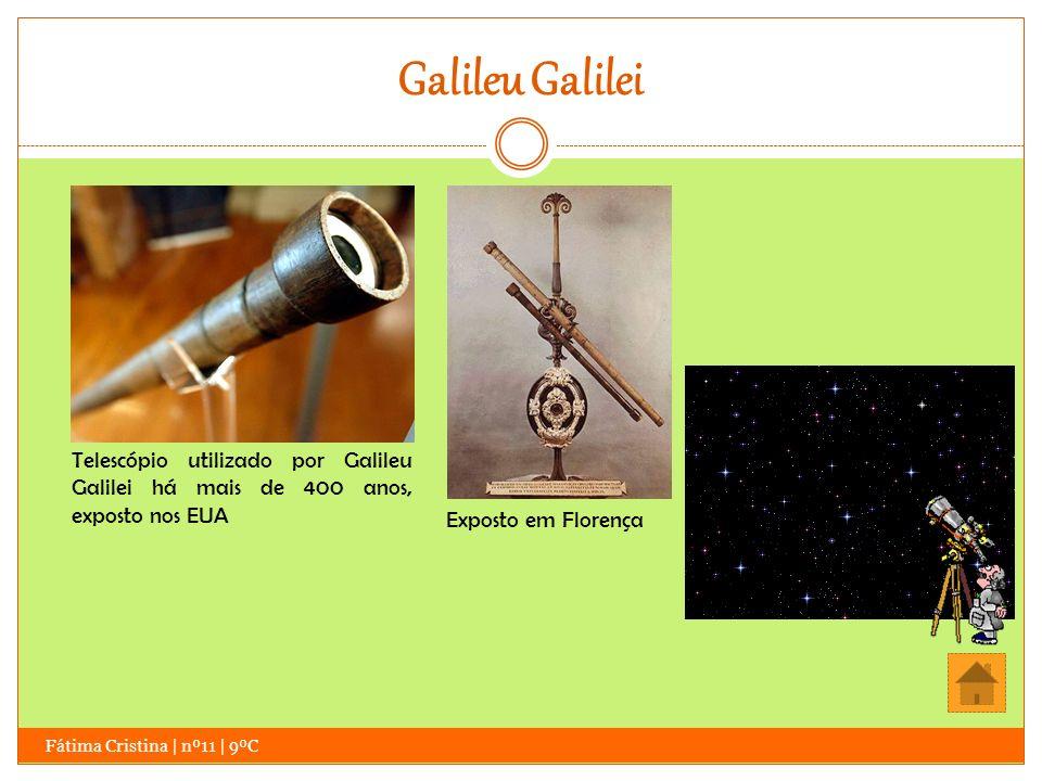 Galileu Galilei Fátima Cristina | nº11 | 9ºC Assim, ao perceber as novas possibilidades de estudo que o telescópio oferecia, decidiu trabalhar com o objetivo de comprovar a veracidade da Teoria Geocêntrica, que defendia que o Sol era o centro do Universo e que tudo o resto girava em sua volta.